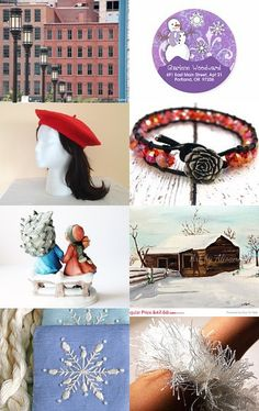 Walking in a Winter Wonderland by Mary Carrellas on Etsy--Pinned with TreasuryPin.com