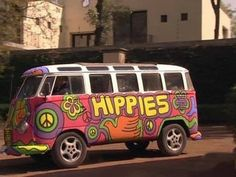 Hippie tijd.