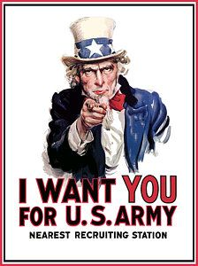 Uncle Sam -- I Want You