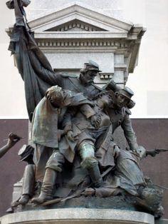 Detail of Civil War Monument, Peoria, IL    Photo:  M Forssander-Baird