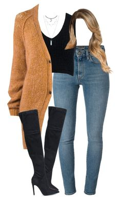"""""""10.12.16"""" by mcmlxxi ❤ liked on Polyvore featuring Yves Saint Laurent, Kendall + Kylie, Sans Souci and Forte Forte"""