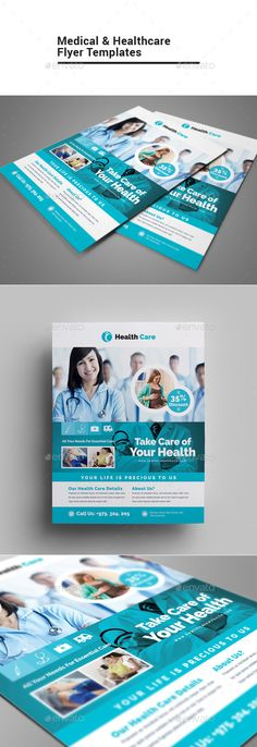 Buy Medical & Healthcare Flyer by on GraphicRiver. Welcome to You have just seen one of our Exclusive item available on Graphic River. Flyer Design, Booklet Design, App Design, Layout Design, Design Trends, Stress And Depression, Losing A Loved One, Business Brochure, Medical Brochure