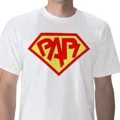 Super Papi… per la Festa del papà Papi, Mens Tops, T Shirt, Supreme T Shirt, Tee Shirt, Tee