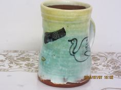 Andrew Van Der Putten . Beer, Van, Pottery, Mugs, Glasses, Tableware, Hall Pottery, Ale, Ceramics