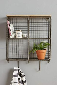 Quadrant Wall Cubby - anthropologie.com