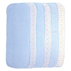 Especially at first, burp cloths are a must for spitting up. #babyitems #target