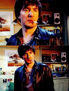 Dylan Moran - I LOVE him in Black Books, he's such a mess and I can't help but adore him.