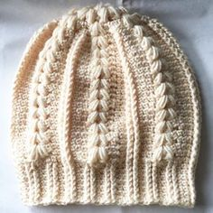 Crochet Patterns Hat I loved this cabled hat! Excellent free pattern from yarningforsanit… Crochet Adult Hat, Crochet Cable, Crochet Beanie, Love Crochet, Crochet Gifts, Knitted Hats, Chevron Crochet, Crotchet Patterns, Knitting Patterns