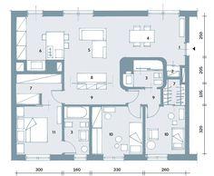 Suddivisioni ottimizzate per la casa di meno di 100 mq - Cose di Casa