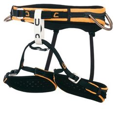 CAMP Stratos Harness | Edge-Load Construction on the waist and legs | at www.weighmyrack.com #rock #climbing #gear
