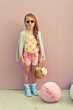 FASHION: Pastel children's fashion spring summer 2014 - Junior