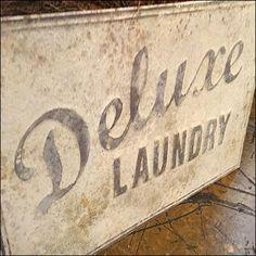 Vintage Deluxe-Laundry Sign Prop – Fixtures Close Up Retail Fixtures, Store Fixtures, Vintage Props, Laundry Signs, Dry Plants, Antique Stores, Staging, Antiques, Antique Shops