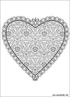 Valentinstag malvorlagen