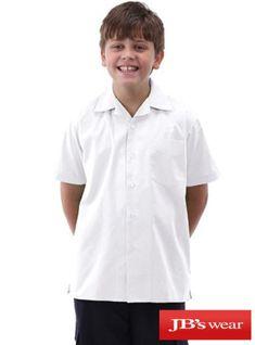 JBs Boys Flat Collar Shirt At Uniforms Super Store Uniforms super store present you JBs Boys Flat Collar Shirt made from 65% Polyester 35% Cotton Poplin