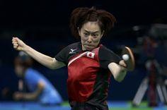 石川佳純、まさかの初戦敗退 足痛めるも治療タイム認められず【リオオリンピック】