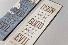 design for good - not evil