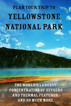 Yellowstone National Park's 2 million acres are home to an incomparable combination of natural beauty, rugged wilderness, majestic peaks and abundant wildlife, as well as the world's largest concentration of geysers and thermal features. The iconic spots—Old Faithful, Lower Falls and Yellowstone Lake—may be familiar from paintings and photographs, but seeing them in person is a humbling, enthralling experience that visitors can enjoy year-round. Yellowstone National Park, National Parks, Old Faithful, Travel Planner, Plan Your Trip, Wyoming, Wilderness, Natural Beauty, Road Trip