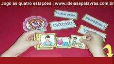 4 Jogos Pedagógicos   Jogo da Memória - Diminutivos - 4 Estações - Ortog...
