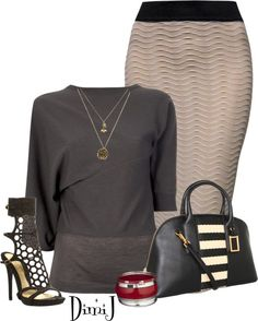 """Office Look- Casual Fridays :)"" by dimij on Polyvore"