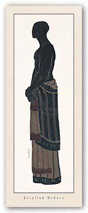 Amazon.com - (13x34) Rosalind McGary The Guardian II Art Print Poster -