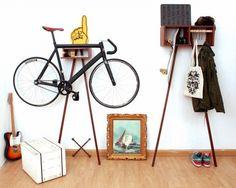 Подборка идей как хранить велосипед