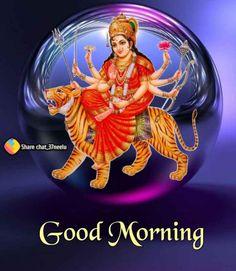 Good Morning Clips, Good Morning Quotes, Durga Maa, Friday Morning, Mornings, Greeting Cards, Movie Posters, Movies, Films