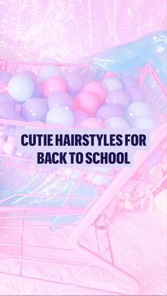 Hairstyle For Girls Video, Easy Hairstyles For Thick Hair, Back To School Hairstyles, Teen Hairstyles, Pretty Hairstyles, Medium Hair Styles, Natural Hair Styles, Long Hair Styles, Aesthetic Hair