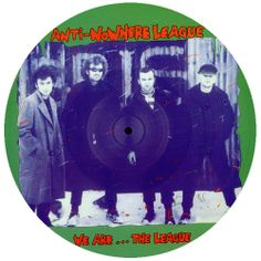 Anti-Nowhere League - We Are...The League (Captain Oi! Records, LP, 2008, UK)