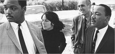 Joan Baez and Martin Luther King Jr.