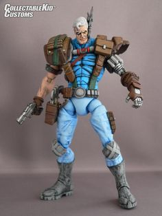 toycutter: Action Figure: Marvel Legends-Style Cable (X-Force)