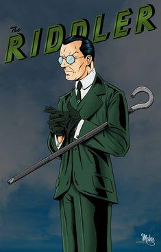 the riddler, the penguin, mr freeze, batman villains, mike mahle The Riddler, Superman, I Am Batman, Batman Art, Cory Michael Smith, Gotham Villains, Comic Villains, Dc Comics Art, Batman Comics