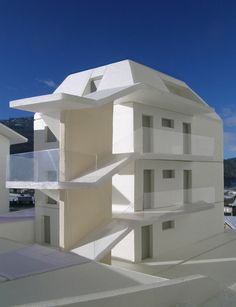 BFA | GI Multi-family Housing #architecture #3dModelling #contemporary #modern #mountains