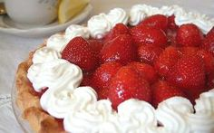 Strawberry pie from Marie Callenders