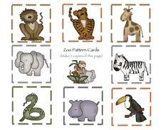 Zoo+9+Pattern+cards.jpg 1 600×1 236 pixels