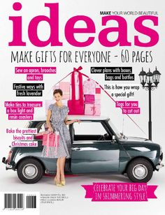 Get your digital subscription/issue of Ideas-November 2014 Magazine on Magzter and enjoy reading the magazine on iPad, iPhone, Android devices and the web. Easy Projects, Step By Step Instructions, Creative Inspiration, Special Gifts, Make It Yourself, Sewing, Digital, Toys, November