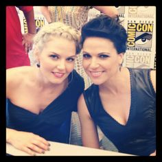Jennifer Morrison and Lana Parilla, 2012