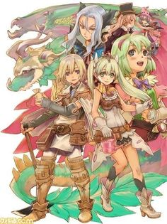 Rune Factory 4. I'm guessing this is cover art.