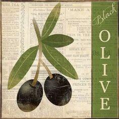 Posterazzi Black Olive Canvas Art - Piper Ballantyne (24 x 24)