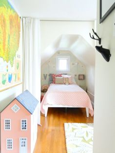 I dream of living in an old house with alcoves and cool architectural features! A Lovely Lark: Home Tour