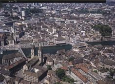 Zürich-Altstadt, Grossmünster, St. Peter. LBS_L1-758374 Image Archive, Switzerland, Paris Skyline, City Photo, Photos, Travel, Viajes, Trips, Traveling