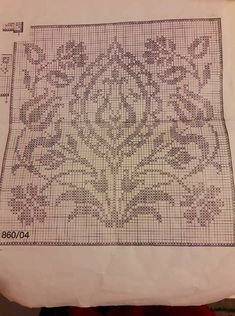 This Pin was discovered by dem Knitting Charts, Baby Knitting Patterns, Crochet Patterns, Cross Stitch Embroidery, Embroidery Patterns, Cross Stitch Patterns, Weaving Patterns, Bargello, Cross Stitch Flowers