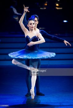 Dancers from the English National Ballet Perform during a dress rehearsal of 'Strictly Gershwin' at the Royal Albert Hall on June 8, 2011 in London, England.