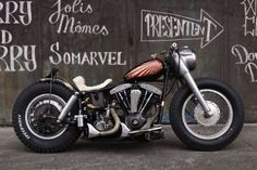 Shovelhead | Bobber Inspiration - Bobbers and Custom Motorcycles | barbagarage October 2014