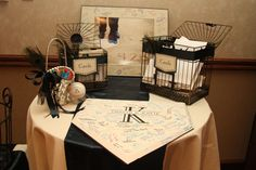 Baseball Theme wedding Guestbook