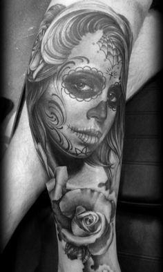 Black & Grey Tattoos by Eric Marcinizyn