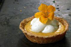 Peach Curd & Rosewater Tartlets by Beth Kirby | {local milk}, via Flickr