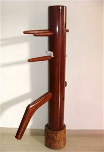 Buick Yip - Lychee Wood Wing Chun Dummy - Mook Yan Jong 319