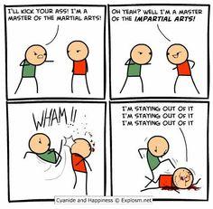Cyanide comic strip apologise, but