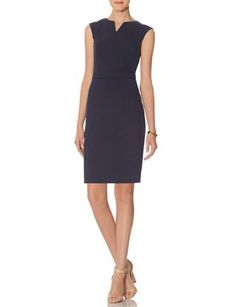 Collection Sheath Dress from THELIMITED.com #TheLimited #Sophisticated…
