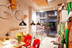 Of-course Berlin has an amazing vintage bike hire store: helloworld-berlin-bicycles